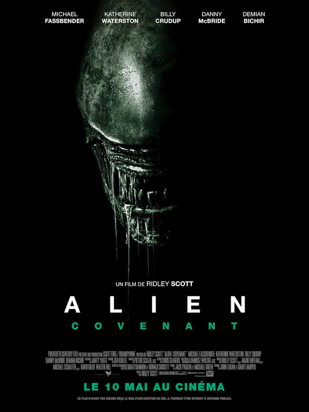 affiche de Alien: Covenant