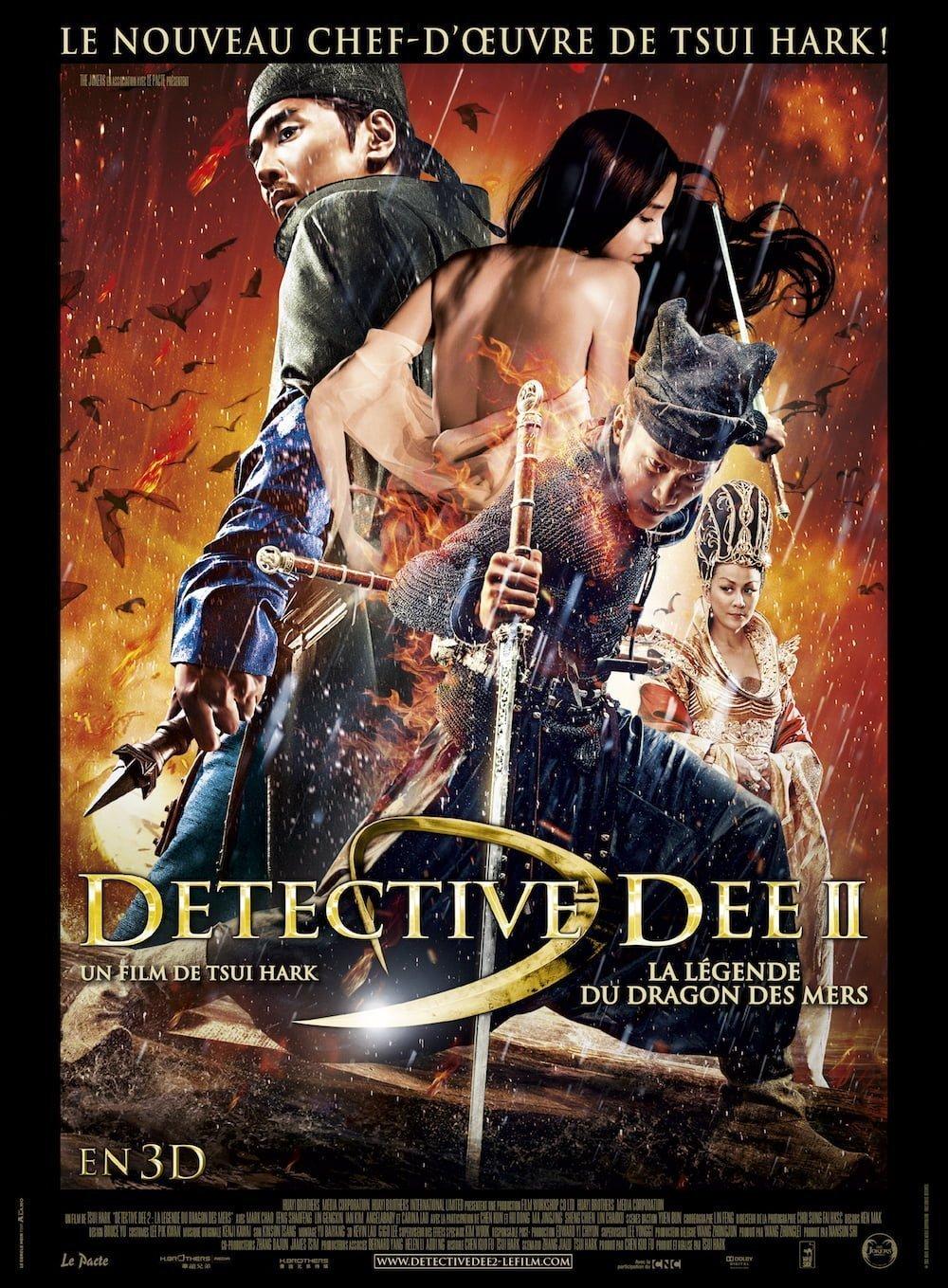 Detective Dee 2 : La légende du dragon des mers affiche