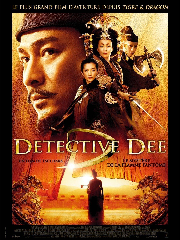 Detective Dee : Le mystère de la flamme fantôme affiche