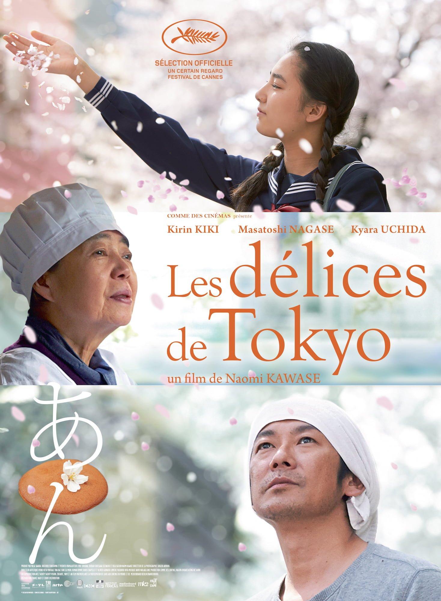 affiche de Les Délices de Tokyo