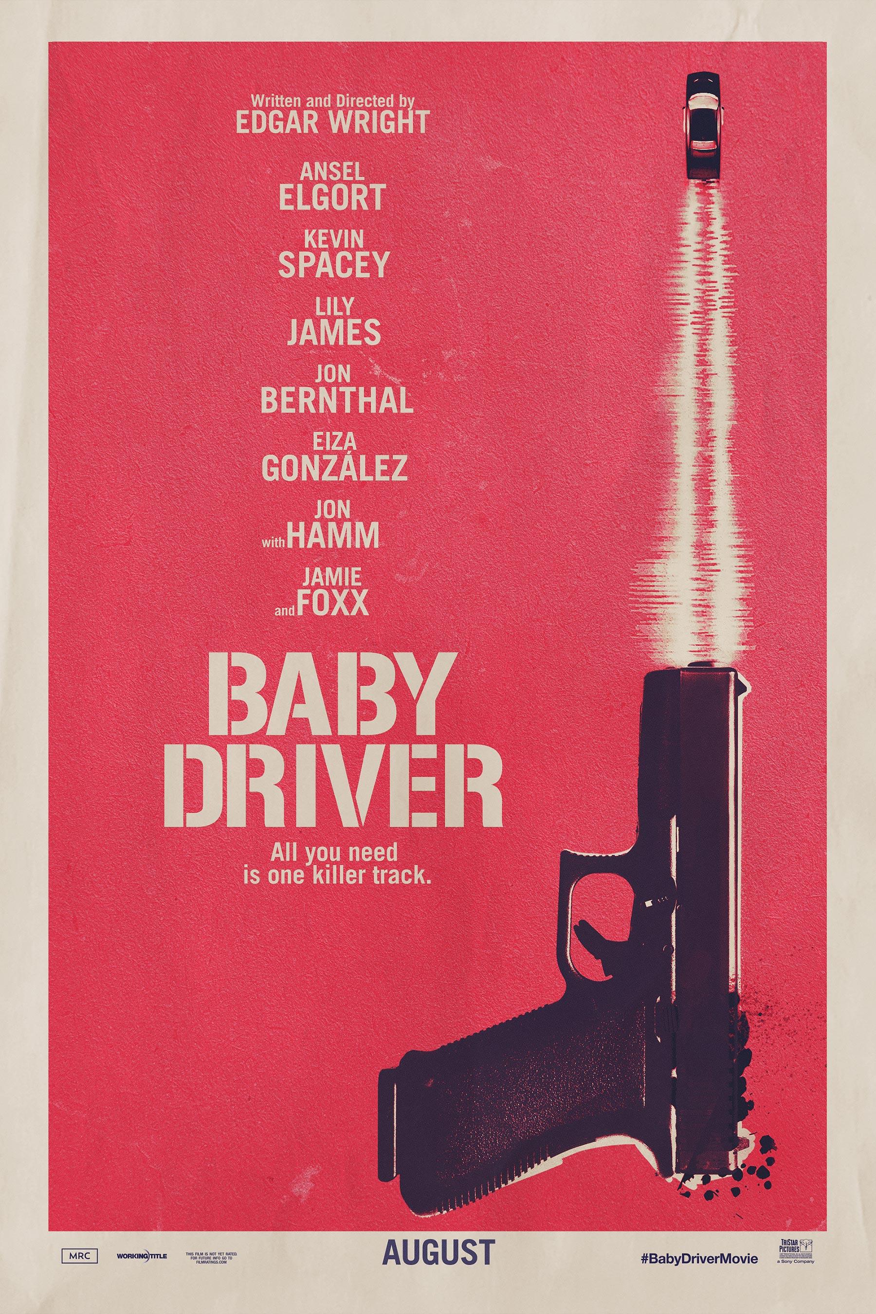 poster de Baby Driver d'Edgar Wright