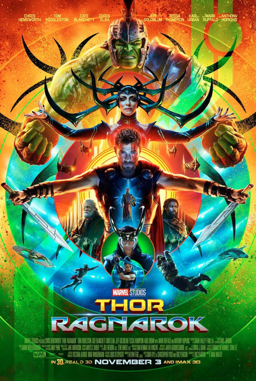poster de Thor: Ragnarök