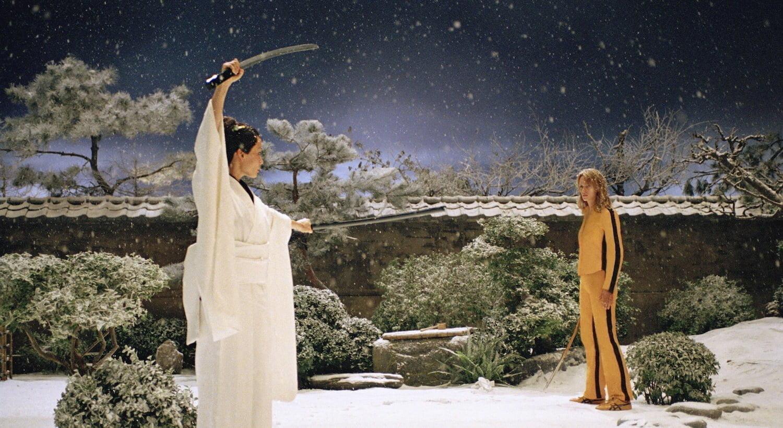 cinéma asiatique dans Kill Bill