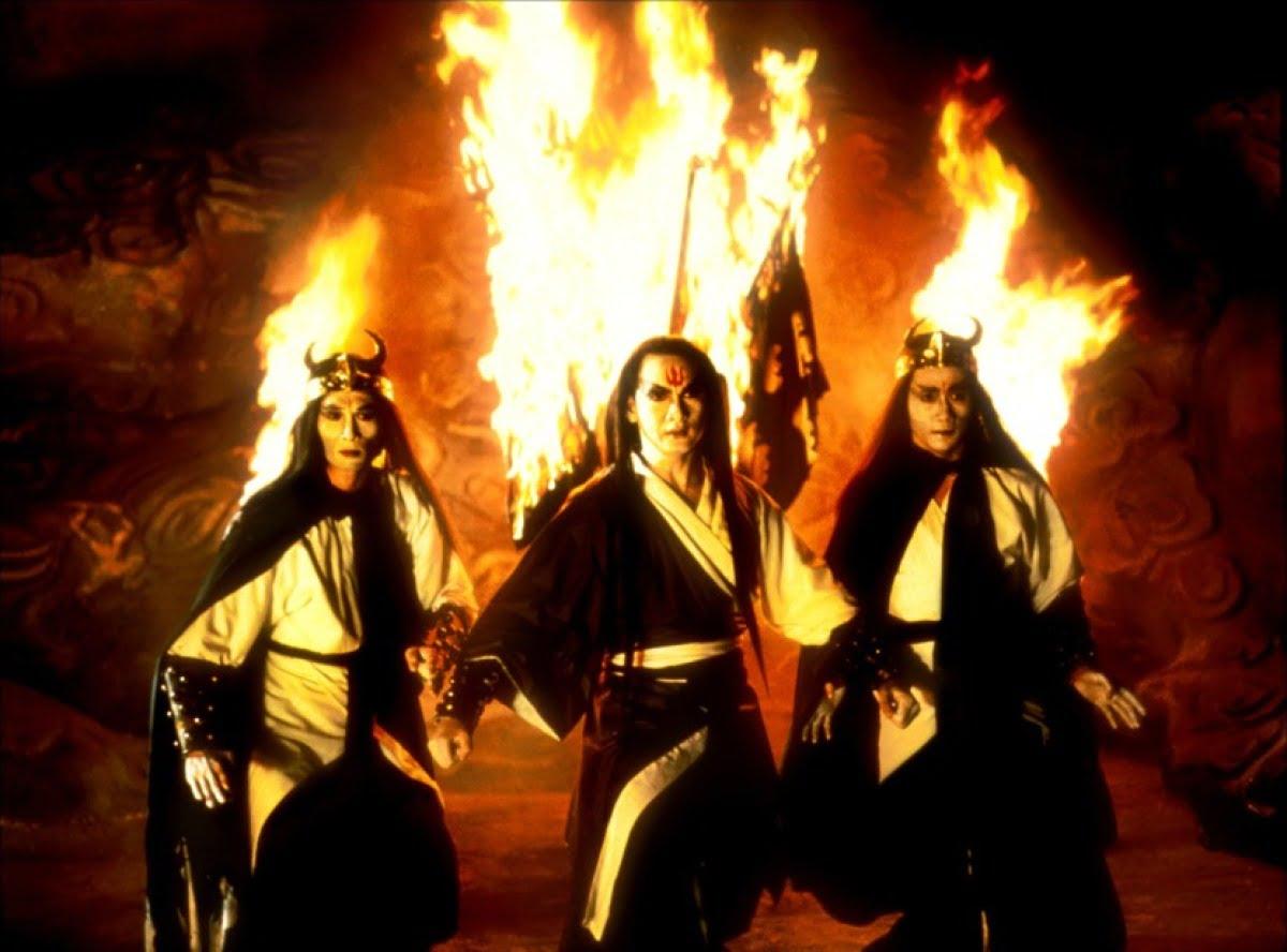 Zu, les guerriers de la montagne magique