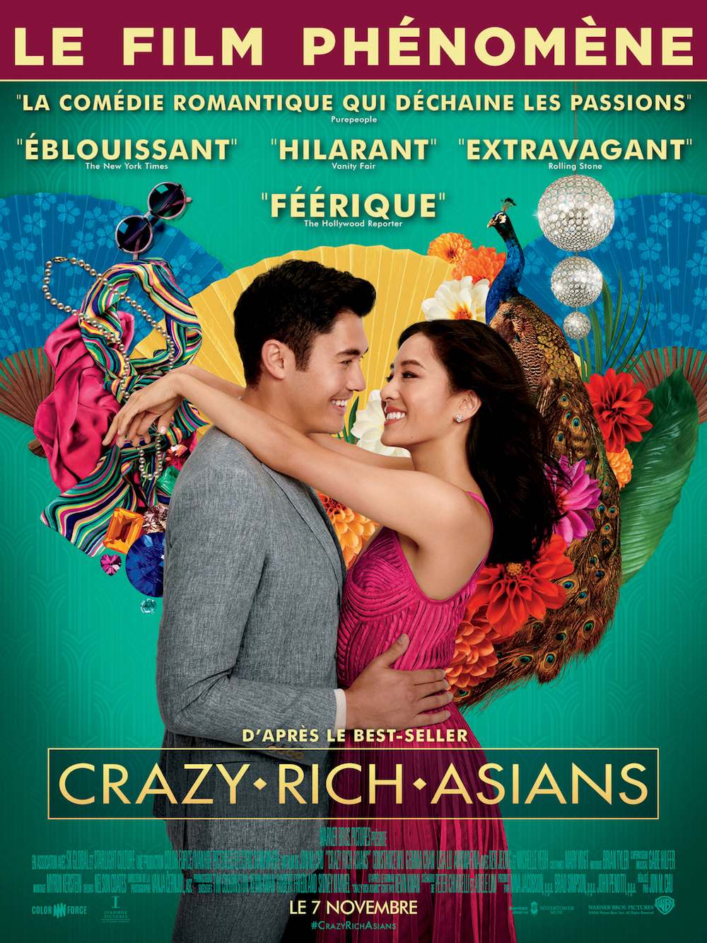 Crazy Rich Asians affiche furyosa