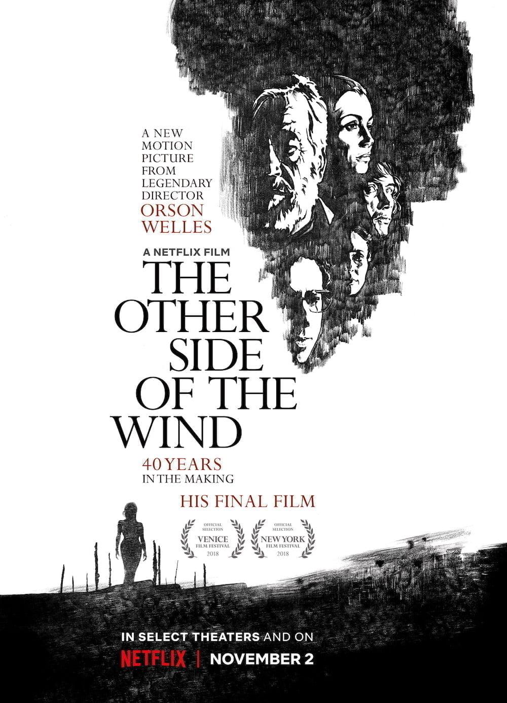 affiche de De l'autre côté du vent