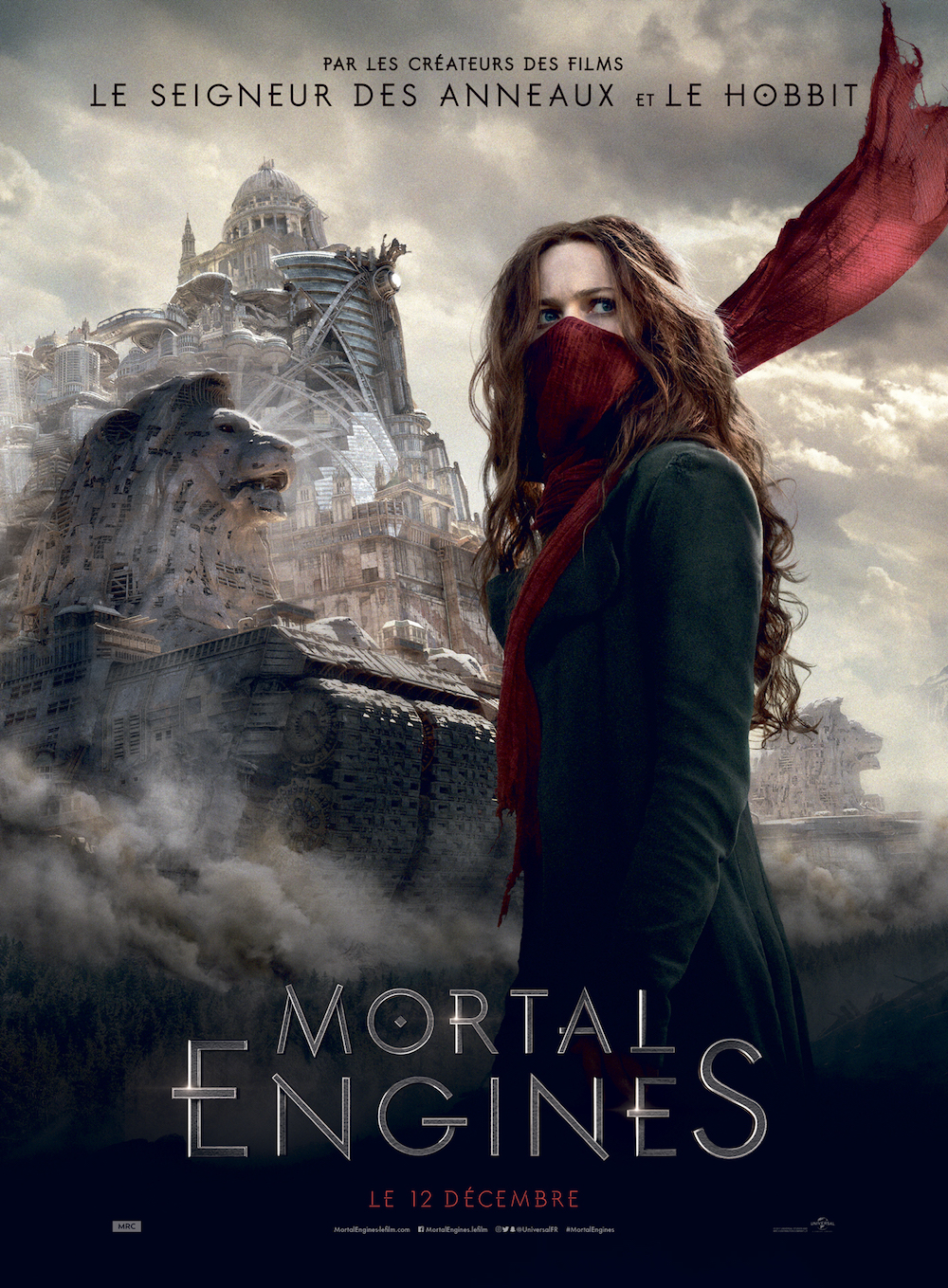 Mortal Engines affiche furyosa