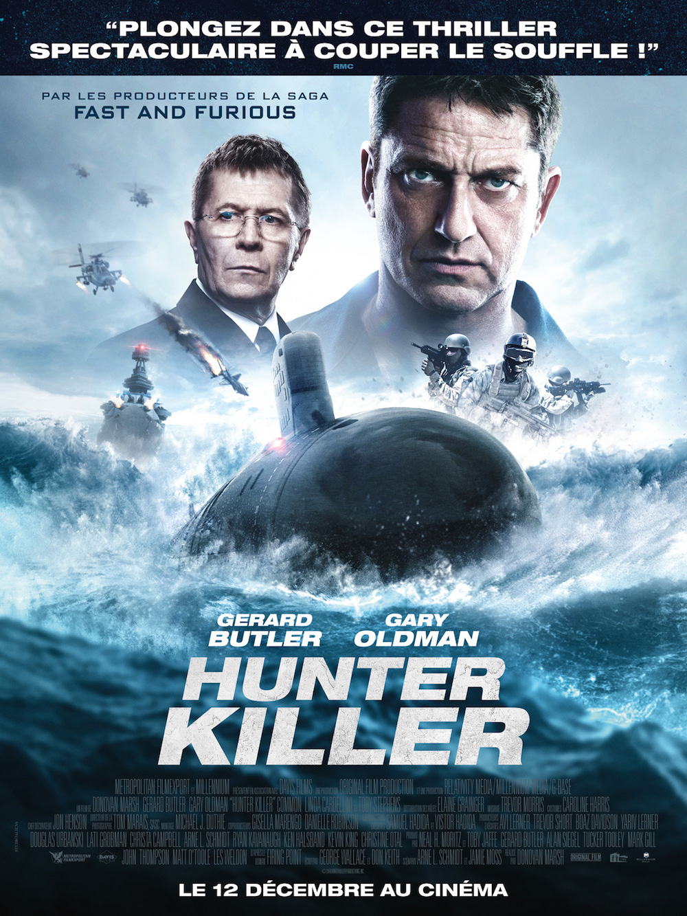 Hunter Killer affiche furyosa