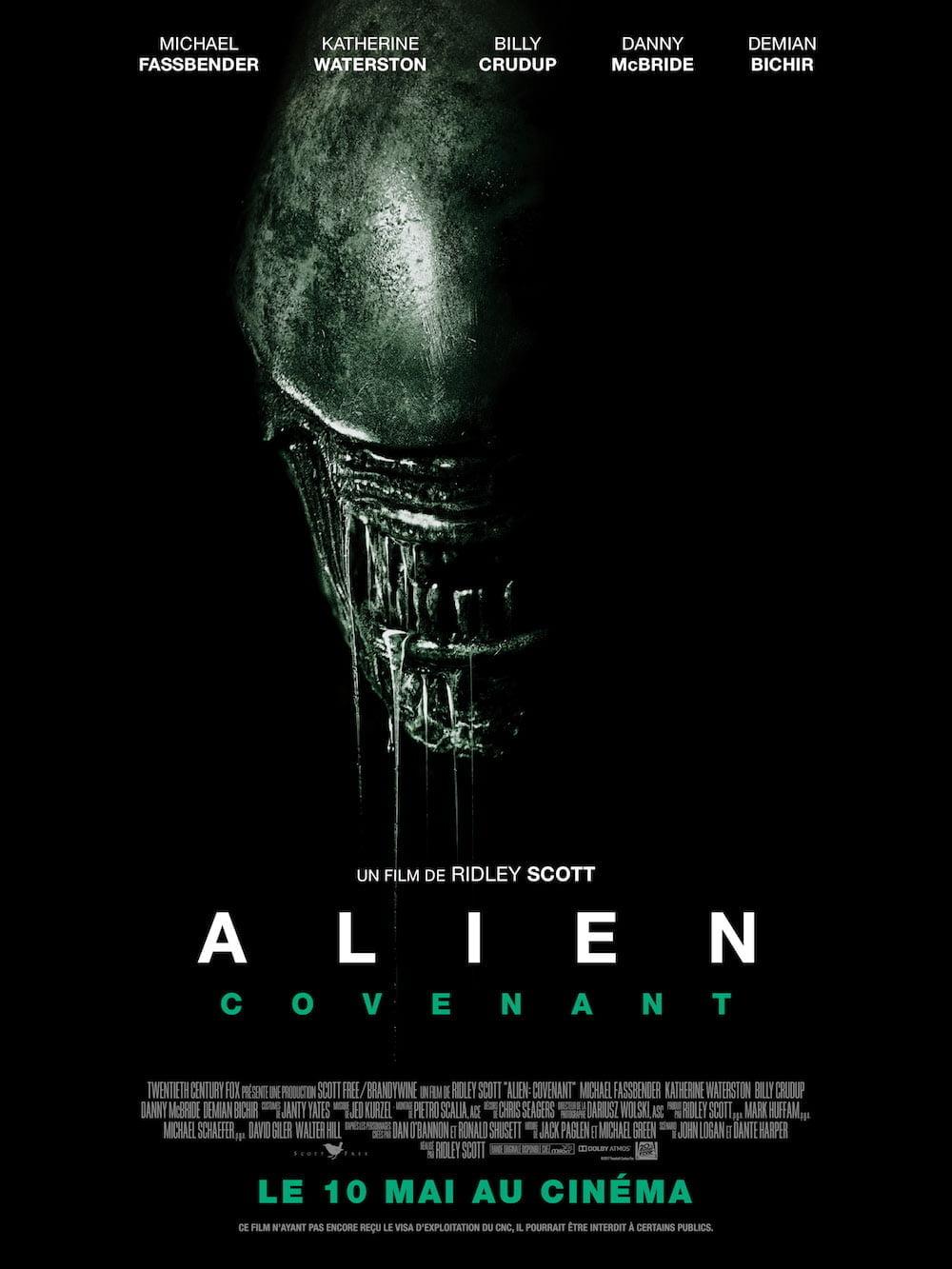 affiche de Alien: Covenant