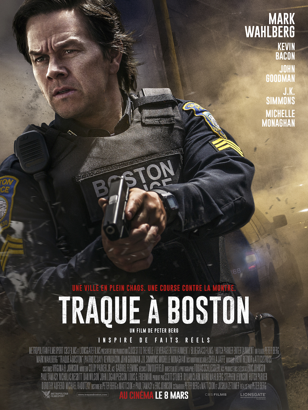 affiche Traque à Boston