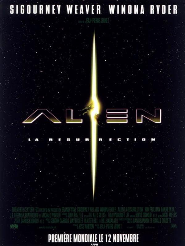 affiche Alien, la résurrection