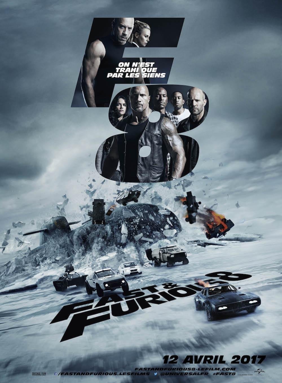 affiche de Fast & Furious 8