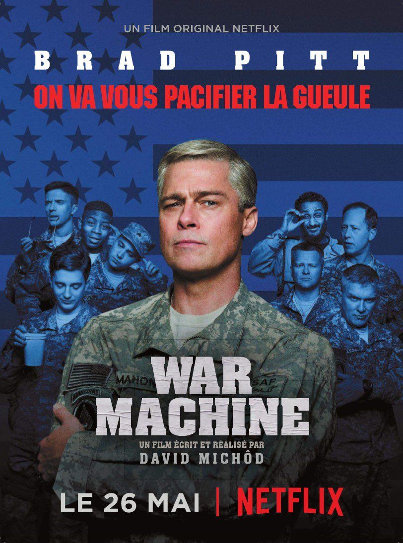 War Machine affiche poster