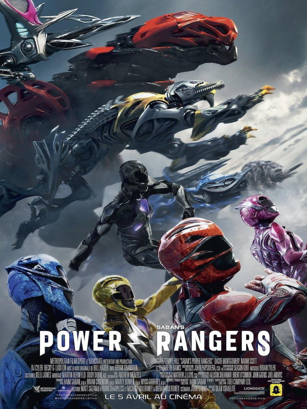 affiche de Power Rangers