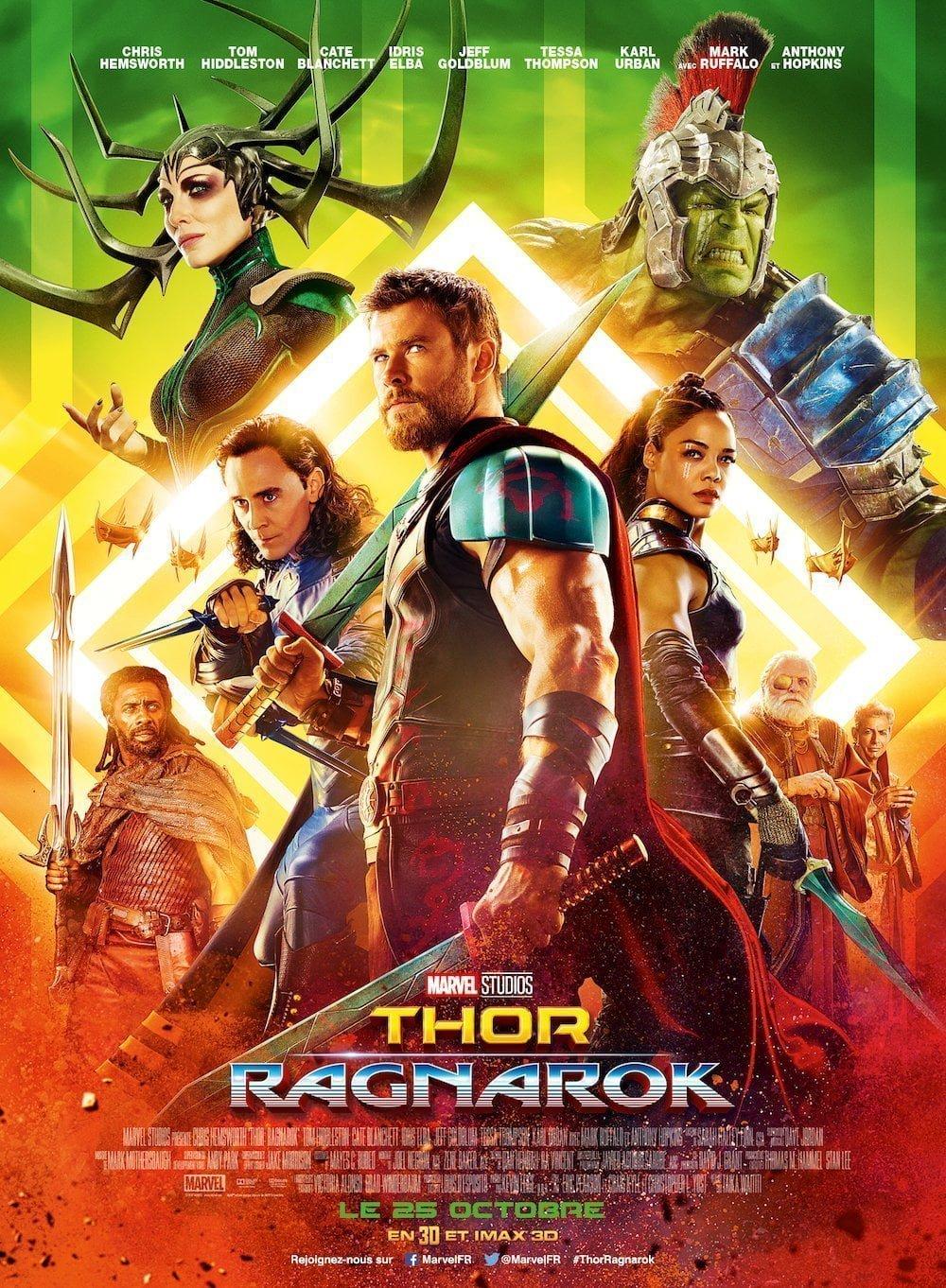 Thor: Ragnarök affiche