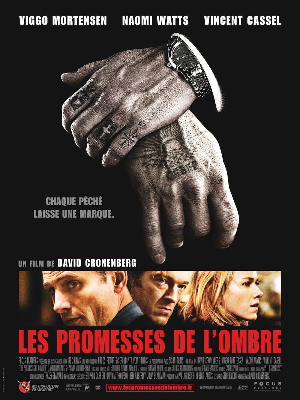 Les Promesses de l'ombre affiche