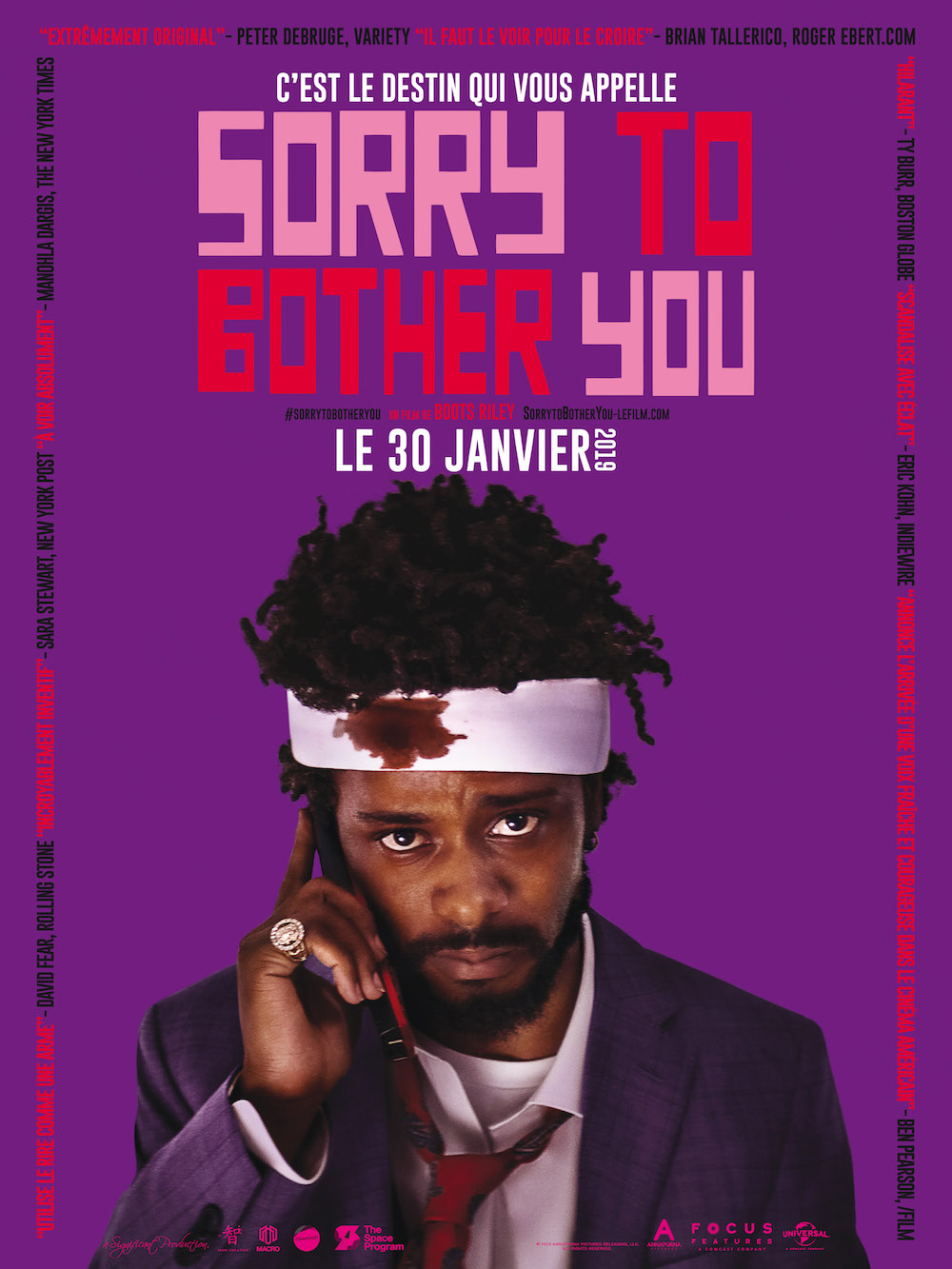 Sorry to Bother You affiche furyosa